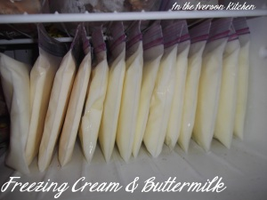 Freezing Cream & Buttermilk